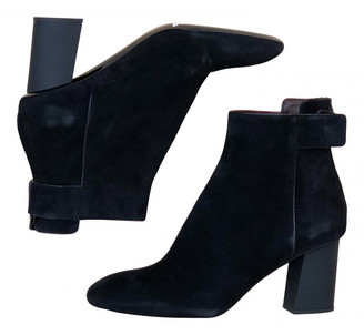 Proenza Schouler Black Suede Ankle boots