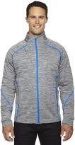 Ash City - North End Sport Red North End Sport Red Men's Flux Mélange Bonded Fleece Jacket 2XL 837
