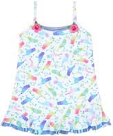 Pate De Sable Print beach dress