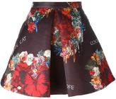Philipp Plein floral and butterfly print skirt - women - Polyester/Acetate/Viscose - XS