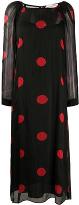 Mara Hoffman Polka Dot Print Dress