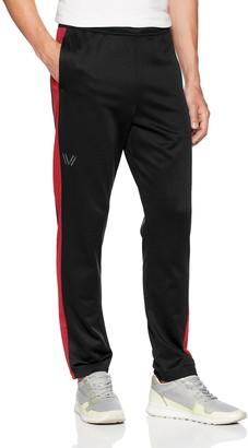 Peak Velocity Amazon Brand Men's Quantum Fleece Athletic-Fit Varsity Sweatpants
