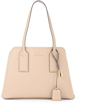 Marc Jacobs Shoulder Bag Model The Editor Made Of Sand-colored Leather