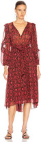 Ulla Johnson Aliya Dress in Fuchsia | FWRD