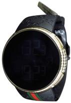 Gucci I YA114207 Digital Gold Case Full 6.5 Ct Diamond Mens Watch