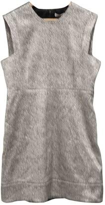 Whistles Silver Glitter Dress for Women