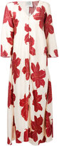 Forte Forte hibiscus print maxi dress - women - Silk - 0
