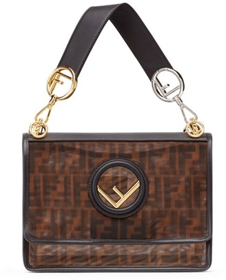 Fendi Kan I F Mesh Shoulder Bag