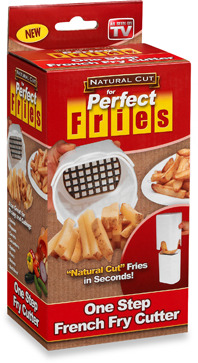 Bed Bath & Beyond Natural Cut for Perfect Fries™ One Step French Fry Cutter