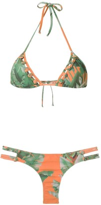 AMIR SLAMA Triangle Bikini Set