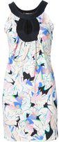 Roberto Cavalli leaf print sleeveless dress
