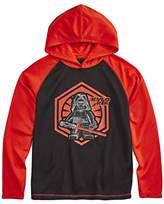Star Wars Lego Big Boys /Red Kylo Ren Long Sleeve Hoodie Shirt