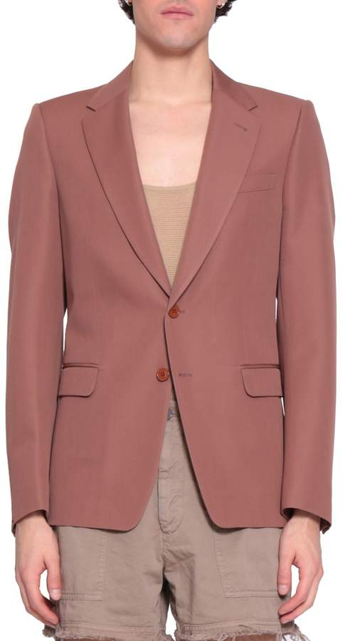 Dries Van Noten Blaine Wool Blazer