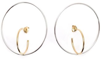 Charlotte Chesnais large 'Saturne' earrings