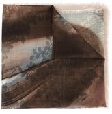 Elie Saab 'Aquarel Lace' scarf - women - Wool - One Size