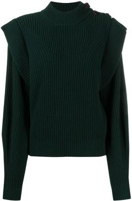 Isabel Marant Peggy mock-neck jumper
