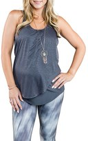 Cozy Orange Women's 'Cooper' Racerback Maternity Tank