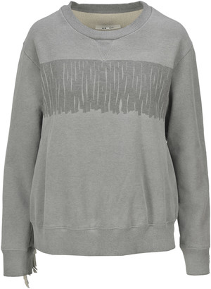 MM6 MAISON MARGIELA Mm6 Fringed Sweatshirt