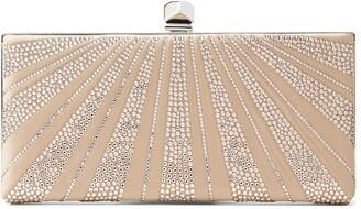 Jimmy Choo Celeste rhinestone-embellished clutch