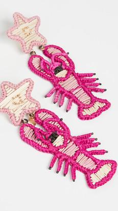 Mercedes Salazar Lobster Earrings