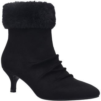 Impo Emila Faux Fur Trimmed Ankle Boot