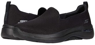 SKECHERS Performance Go Walk Arch Fit (Black) Women's Shoes