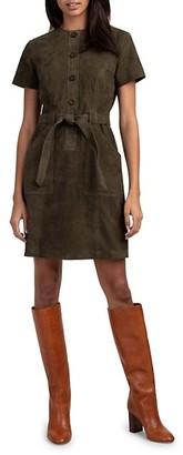 Trina Turk Penny Suede Dress