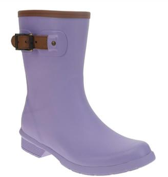 Chooka Women's City Solid Mid Waterproof Rain Boot