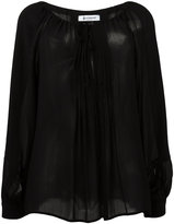 Dondup transparent loose-fit blouse - women - Viscose - 44