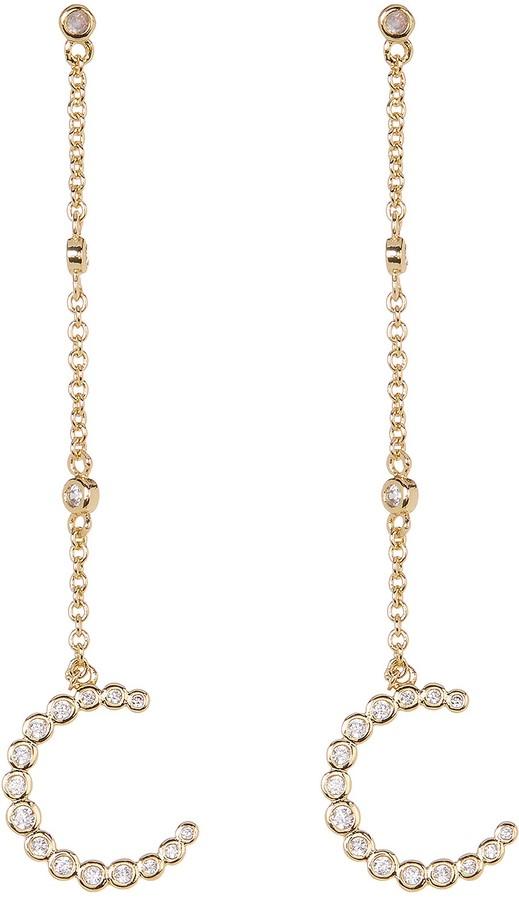Shashi Elizabeth CZ Drop Earrings