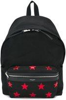 Saint Laurent 'City' backpack - men - Cotton/Leather - One Size