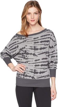 2xist Women's French Terry Boatneck Sweatshirt Sweater