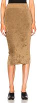 Helmut Lang Midi Pencil Skirt