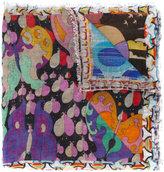 Faliero Sarti Fantasilandia print scarf - women - Silk/Modal - One Size