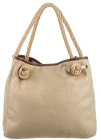 MICHAEL Michael Kors Metallic Canvas Tote