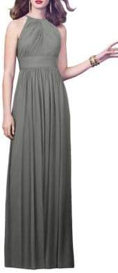 Dessy Collection Full Length Lux Chiffon Dress