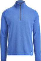 Ralph Lauren Wool-blend Half-zip Sweater
