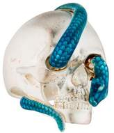 Theo Fennell Skull & Snake Cocktail Ring