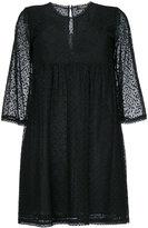 Twin-Set geometric pattern short dress - women - Cotton/Polyamide/Polyester - 38