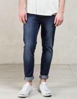 Nudie Jeans Indigo Deep Colbalt Lean Dean Jeans