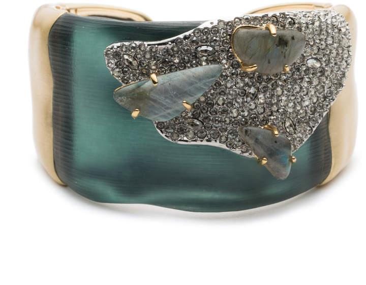 Alexis Bittar Roxbury Cluster Flip Hinge Bracelet