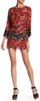 Anama Floral Cutout Kaftan Dress