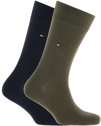 Tommy Hilfiger Two Pack Socks Green