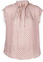 Giorgio Armani checked blouse - women - Silk - 44