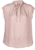 Giorgio Armani checked blouse