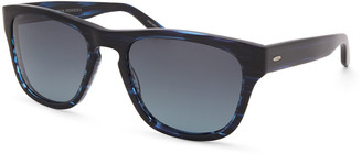 Barton Perreira Men's Bunker Plastic Square Polarized Sunglasses
