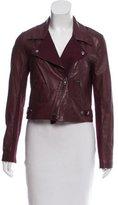 Sachin + Babi Asymmetrical Leather Jacket