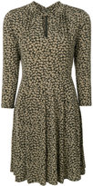 MICHAEL Michael Kors flared mini dress - women - Polyester/Spandex/Elastane - M