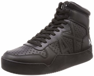 Armani Exchange A|X Men's Perforated High Top Sneaker