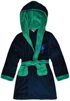 Exciteclothing Boys Polo Pony Hooded Dressing Gown New Kids Soft Bath Robe